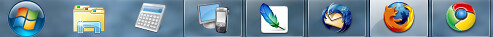 richc's taskbar