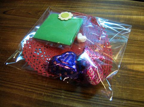 你拍攝的 V Day gift from Ms.Shizue。