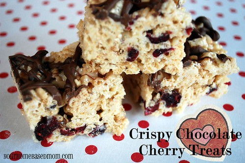 crispy chocolate cherry treats - Page 246
