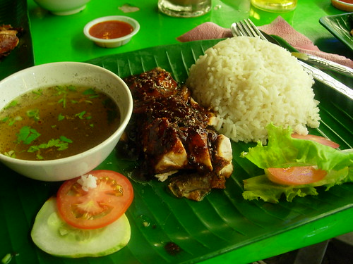 nasi ayam blackpepper