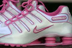 Nike Shox (lynne_b) Tags: pink race athletic shoes nike archives soles laces swoosh gymshoes nikeswoosh nikeshox