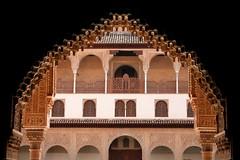 Granada - Alhambra - Patio de los Arrayanes (okbends) Tags: architecture spain columns arches courtyard espana alhambra moorish granada colourartaward