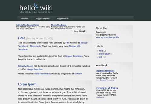 wikipedia templates download