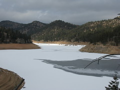 Gross Resevoir View From Trail (fethers1) Tags: icefishing laketrout grossreservoir grossresevoir
