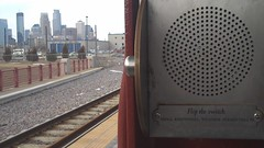 on the way back from the new apartment (thearnoswimmer) Tags: skyline minneapolis lightrail augie fliptheswitch weatherpermitting augzilla