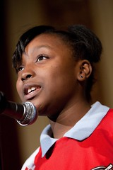 (America SCORES Chicago) Tags: city red party usa chicago kids youth night word fun carpet slam community poetry soccer il inner poetryslam gala fundraiser spoken spokenword outreach volunteerism innercityyouth schooloftheartinstitute acpick