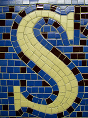 "Subway Tile Mosaic ""S"" (johnwilliamsphd) Tags: nyc newyorkcity copyright newyork john subway tile williams mosaic c s oneletter  300000 williams john johncwilliams johnwilliamsphd phd"