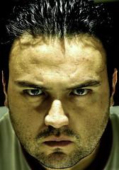 Self portrait (Armando Maynez) Tags: portrait selfportrait self eyes nikon retrato autoretrato anger noflash personality indoors ojos vista sight nikkor armando mirada 18200 personalidad d90 18200vr myfacebook maynez