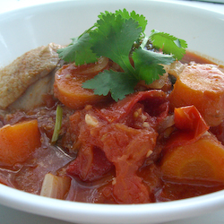 Tomato Chicken Stew