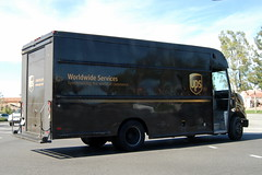 UNITED PARCEL SERVICE (UPS) DELIVERY TRUCK (Navymailman) Tags: truck united ups delivery service parcel