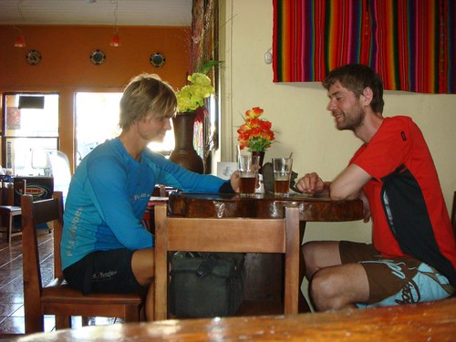 Tired and hungry likes wolves in the Hub, aka Liberia - Costa Rica...