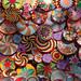 Enjoy the colour: woven circles II