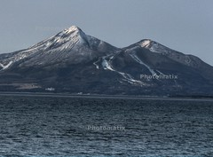 Mt. Bandaisan.