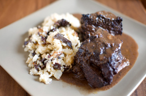 short ribs & risotto