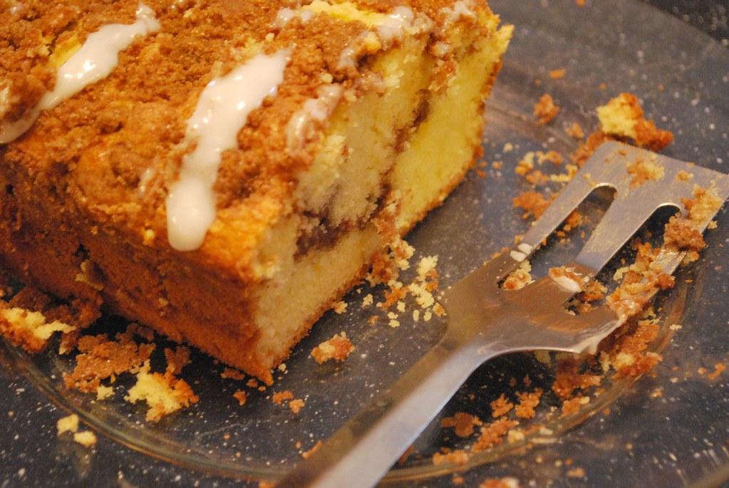 cinnamon swirl cake...