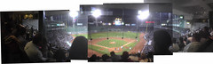 Red Sox vs. Orioles at Fenway Park, May 31 2005: Panoramic view from the .406 Club