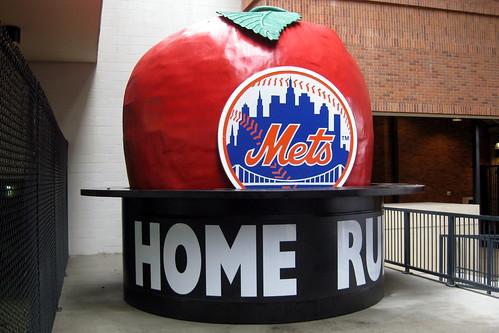 NYC - Queens - Flushing: Citi Field - Bullpen Gate - Home Run Apple