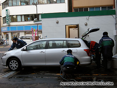 The staff immediately disinfected and cleaned up the car once we returned it