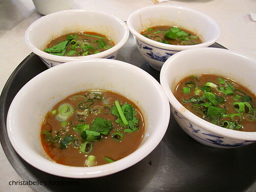真北平酸菜白肉鍋沾醬
