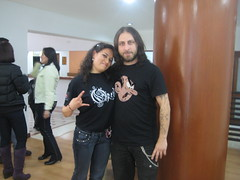 Oyentes de radinica conocen a Opeth - abril 1 2009 003 (radionica) Tags: opeth radionica