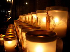Candles at NotreDam