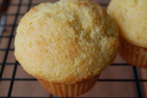 Quintessential corn muffins