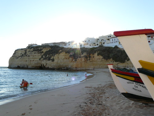 Playa de Carvoeiro Foto 2