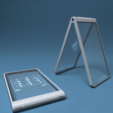 Glass Mobile Phone