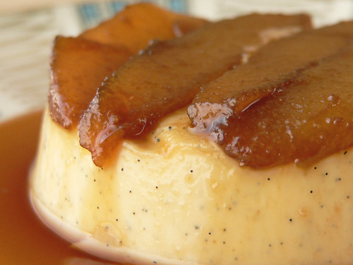 Pear and Coffee Panna Cotta