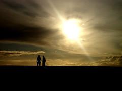 Contraluz @ Praia da Barra (poeta_rural) Tags: sol prdosol barra aveiro praiadabarra poetarural