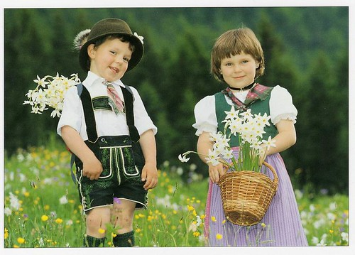 Tracht Dirndl and Lederhosen - Traditional German Clothing
