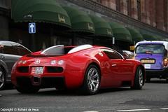 Bugatti Veyron EB 16.4 (Richard de Heus) Tags: red london harrods 164 bugatti supercar eb veyron eb164