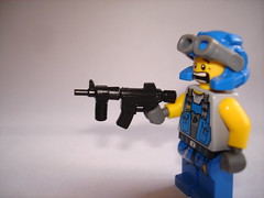 BA Mod: HK-416 V2 (The Sargeant of Randomness (no longer active)) Tags: mod power lego ba miner v2 monopod hk416 brickarms