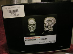 T2 Box Art knock-off (luvsdaheat) Tags: model vinyl kit terminator t2 the endoskeleton endoskull