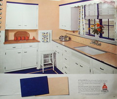 Sherwin Williams Paint and Color Style Guide (JAVA1888) Tags: color kitchen vintage paint williams interior style 1940s guide linoleum 1941 sherwin
