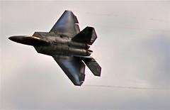 us air force raptor stealth technology aewsome (thomassylthe) Tags: nikon technology aircraft military raptor stealth smokin usairforce fighterjet nikkor300mm rockfordairfest
