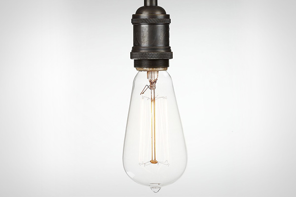 Filament Bulb from Pottery Barn ($9.00)