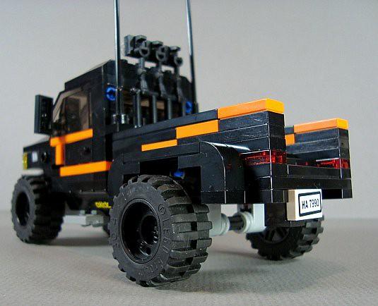 truck lego fig rally mini figure dodge minifig ram minifigure 3500 minifigscale