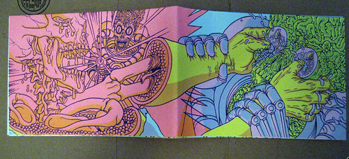 Silk screen book wraparound cover
