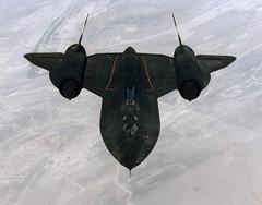[フリー画像] [航空機/飛行機] [軍用機] [偵察機] [SR-71 ブラックバード] [SR-71 Blackbird]      [フリー素材]