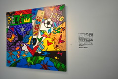 Romero Britto (parisneto) Tags: miami vivid agosto mia fl aug romero britto 2009 soutbeach