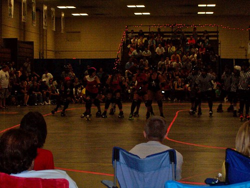 the columbia quadsquad roller girls vs nrv