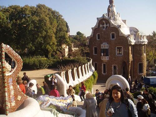 La modernista ciudad de Barcelona