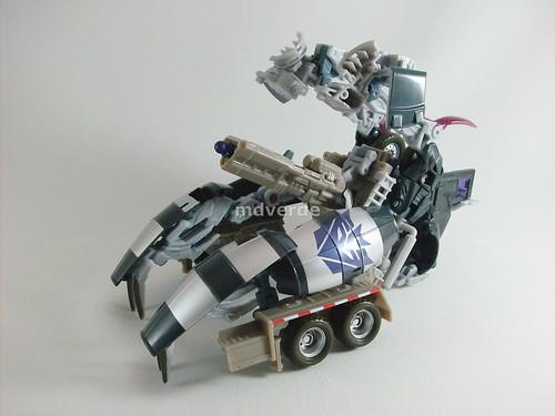 Transformers Mixmaster Voyager RotF - modo de batalla