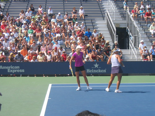 Glatch and Gullickson in a match, US Open