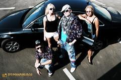 DJ Carbo X (Fotomahler) Tags: man male car fashion vw female portrt frau lowrider fotomahler