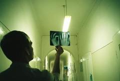 (MilkyAir) Tags: boy film hospital iso200 hands polska schlecker konicabigmini milkyair