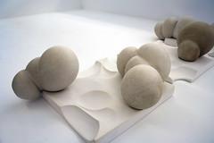 Formative Restraints (madebyafriend. www.brekkefriend.blogspot.co.uk) Tags: manipulated japanese sand ceramics bondage plaster cast bond slot fit neutral formed shibari indent