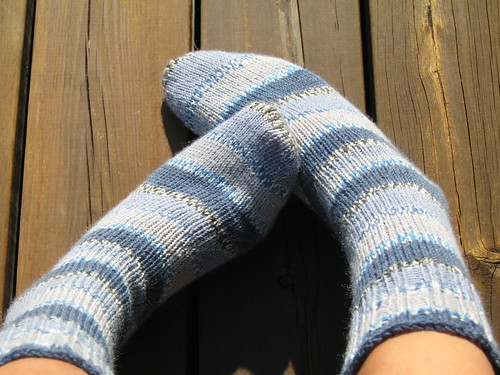 denim socks