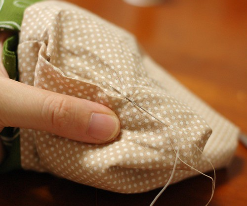 How to make a petit pouch 30